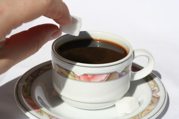 un sucre pour  mon café