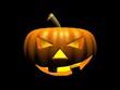 creepy halloween pumpkin