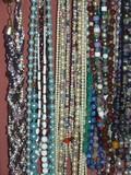 beads glitter poster