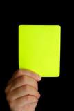 carton jaune poster