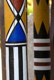 painted poles poster