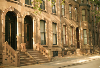 philadelphia brownstones