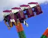 amusement ride poster