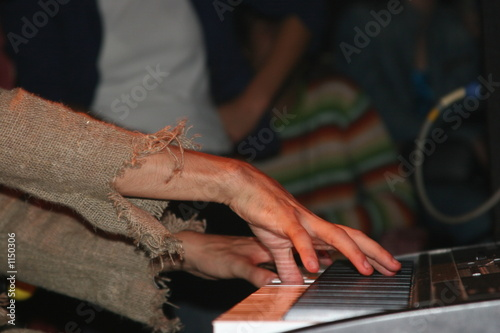 playing piano - 2