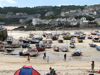st ives fishing fleet
