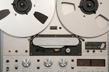 studio tape recorder detail