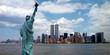 Leinwandbild Motiv new york harbor