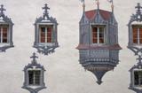 castle facade poster