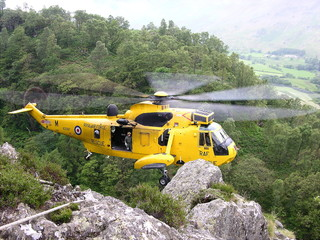 helicopter crag rescue