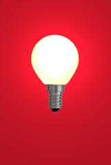 red bulb.