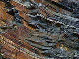 geological rock layers poster