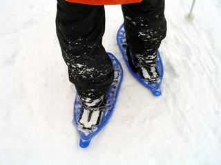 snowshoe trekking #1