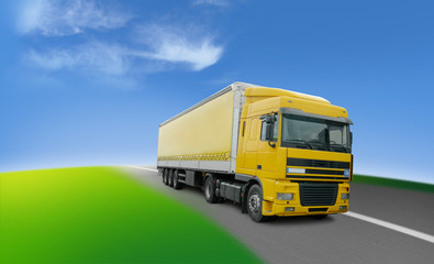 truck - transport and logistics around the world
