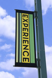 experience banner poster