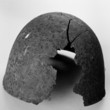 old steel helmet