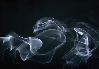 smoke, swirls and art