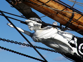 figurehead on tallship