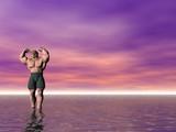 bodybuilder eight poster