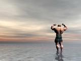 bodybuilder thirteen poster