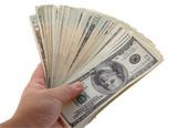 big handful of cash poster