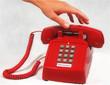 red emergency phone