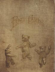 vintage postcard album cover