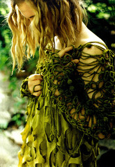 fashion-seaweed dress
