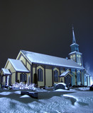 hønefoss church left view poster