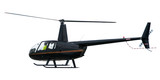 black helicopter poster