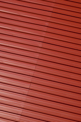 red corrugated aluminum