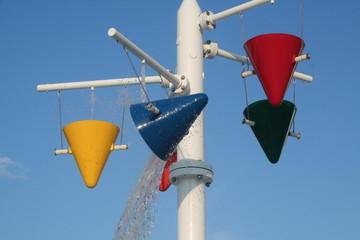 water park buckets