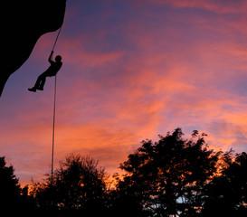 sunset rappel
