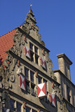 old house facade poster
