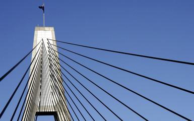 anzac bridge pylon