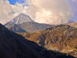 mount vihren, the highest peak in eastern europe poster