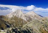 view of mt. vihren, the highest peak in eastern eu poster