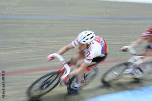 Fotobehang Wielersport speed