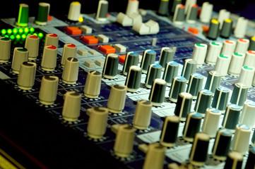 mixer - audio panel