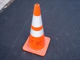 orange cone poster