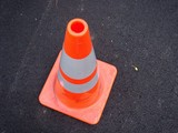 safety cone poster
