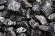 canvas print picture - coal-heap
