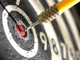 dart in centre-