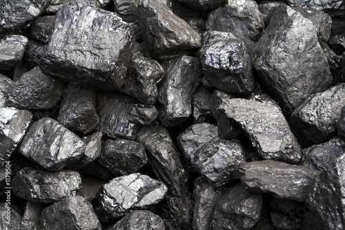 canvas print picture coal-heap