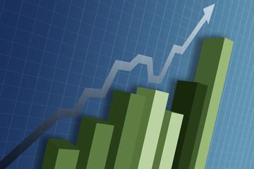 a business chart