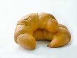 tasty croissants poster