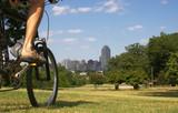 urban biker poster