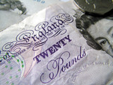 twenty pound note poster