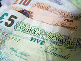 uk bank notes poster