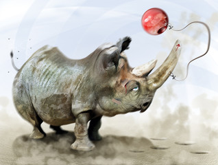 le bilboquet du rhino