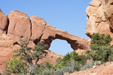 touring in arches national park 8 poster